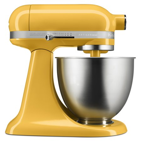 KitchenAid Artisan Mini 3.5 Quart Tilt-Head Stand Mixer, Orange Sorbet (KSM3311XBF)