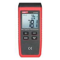 UNI-T UT320A Mini LCD Digital Thermometer 1 Channel Type K/J Thermocouple Sensor -50~1300°C/-58~2372°F Data Hold Function