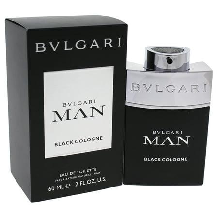Bvlgari Man Black Cologne by Bvlgari for Men - 2 oz EDT Spray Black Cologne Edt Spray