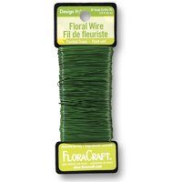 FloraCraft Design It 270' 26-Gauge Green Floral Wire