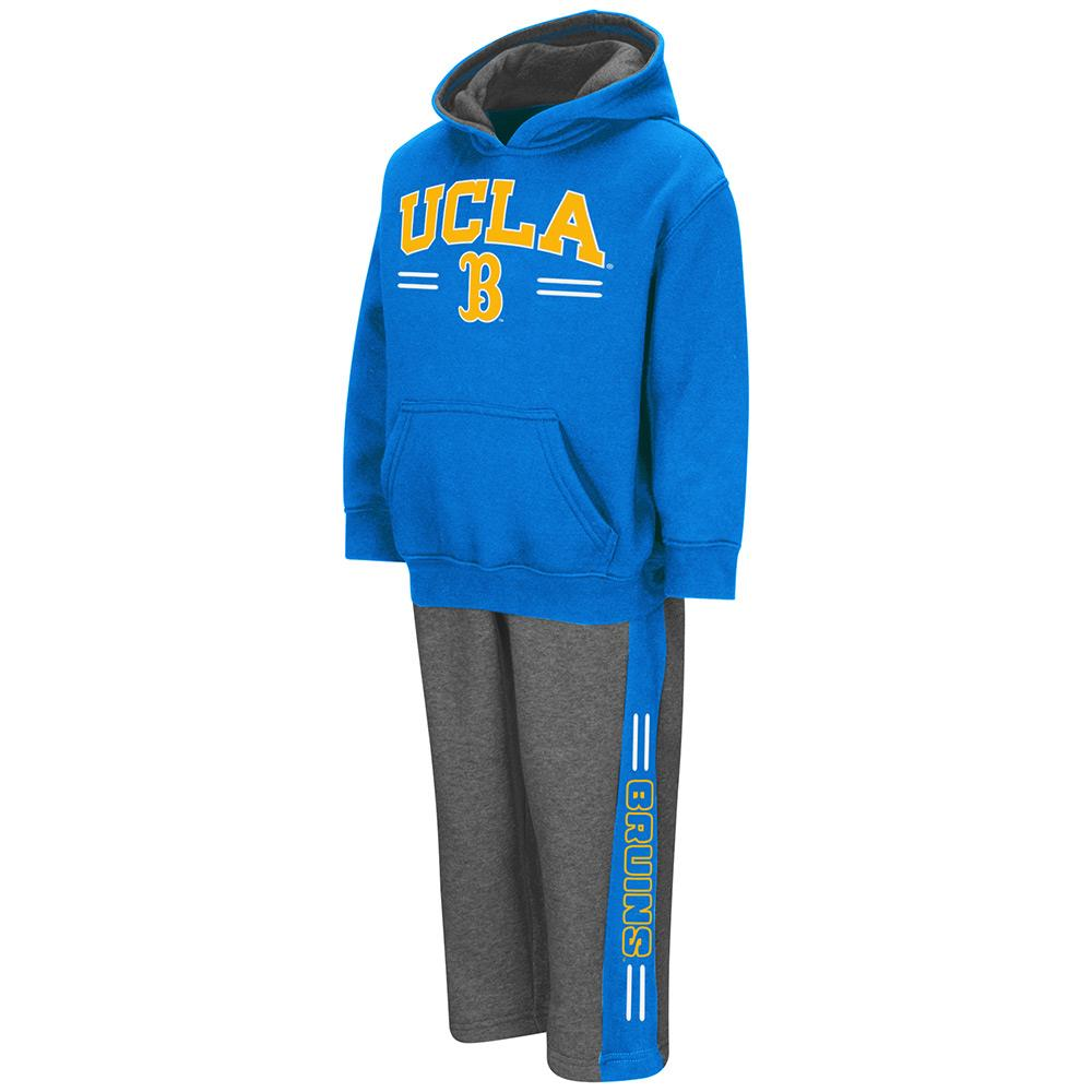 Toddler NCAA UCLA Bruins Boys Punter Fleece Hoodie and Sweatpants Set (Team Color)