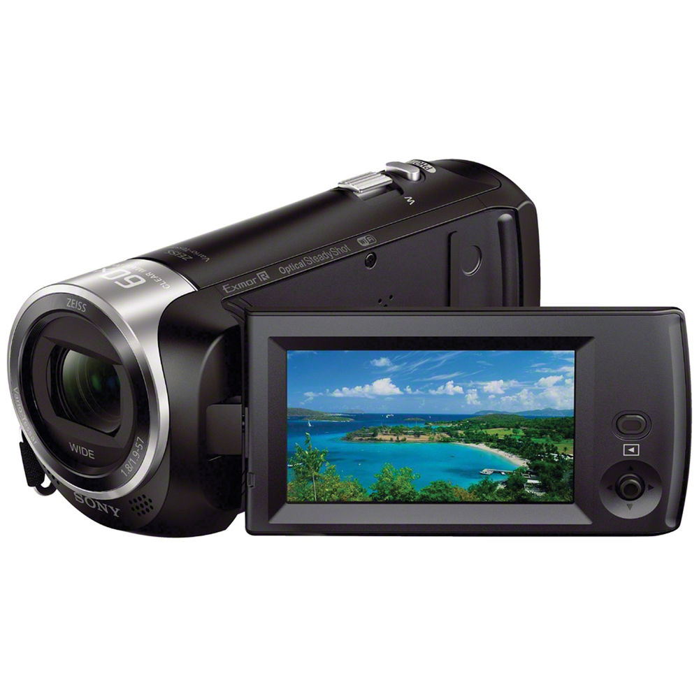 Sony HDR-CX440 B Full HD Camcorder by Sony