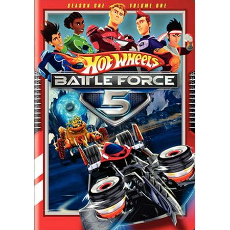 Hot Wheels Battle Force 5: Season 1, Volume 1 (The Challenge Battle Of The Seasons 2012)