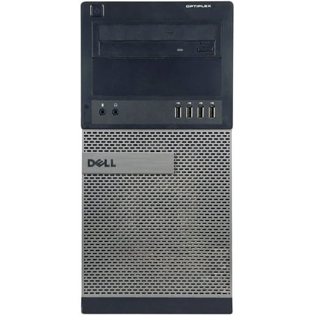 Refurbished Dell Optiplex 790 Tower Desktop Pc With Intel Core I5 2400 Processor  8Gb Memory  1Tb Hard Drive And Windows 10 Pro  Monitor Not Included