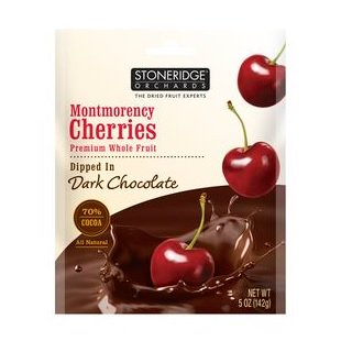 Stoneridge Orchard Cranberries Dipped In Dark Chocolate   6X5 Oz