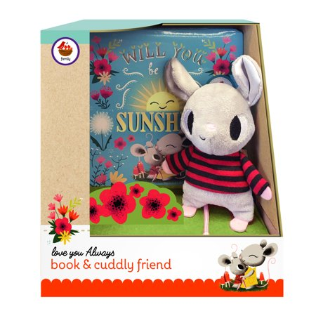Cuddly Book (Book and Cuddly Plush Toy Friend: Will You Be My Sunshine Gift Set (Board Book))