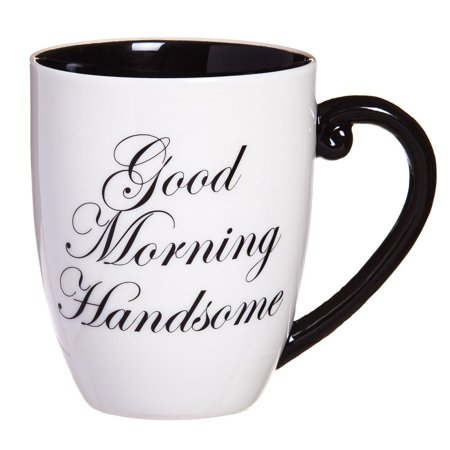 Good Morning Handsome Elegant Coffee Mug