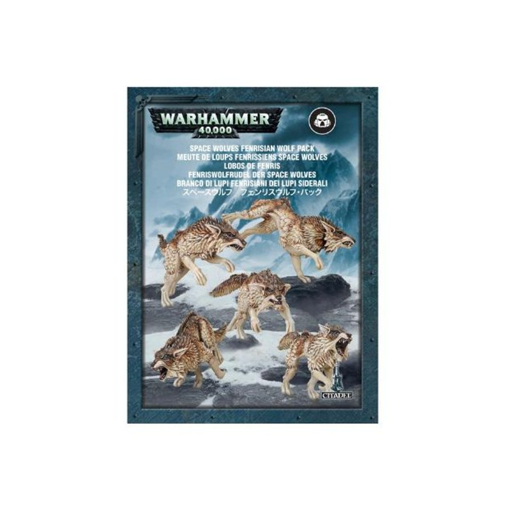 Space Wolves Fenrisian Wolf Pack Warhammer 40,000 Plastic Model Set by Games Workshop