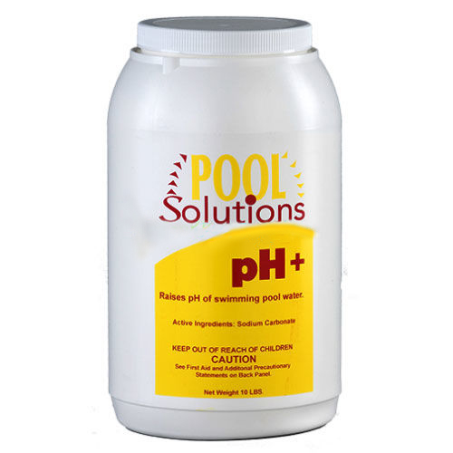 Pool Solutions P31010DE Swimming Pool Water pH Up Increaser Plus 10lb