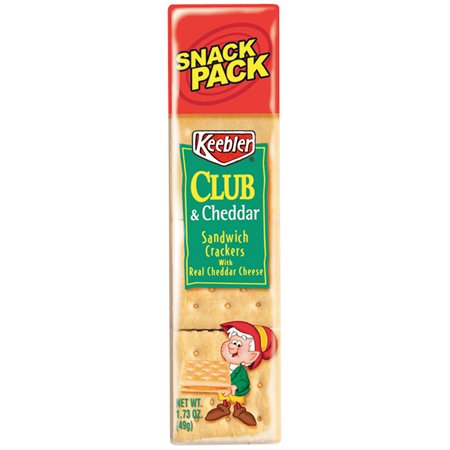 Keebler? Club? & Cheddar Sandwich Crackers 1.73 oz. Snack Pack