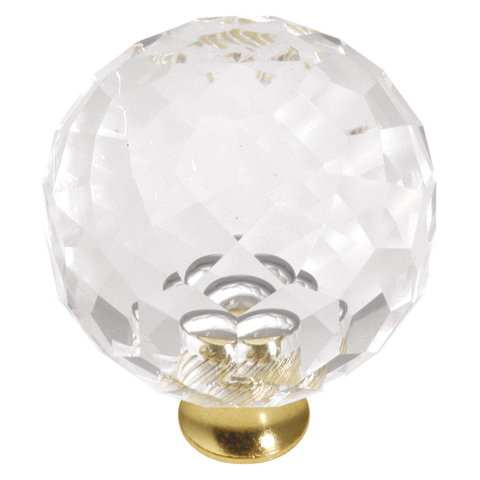 Hickory Hardware Crystal Palace Round Cabinet Knob