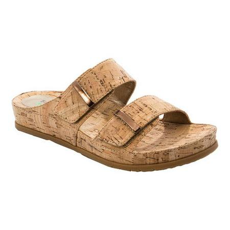 a9cd6465eb7e BareTraps - Bare Traps Womens Cherilyn Open Toe Casual Slide Sandals -  Walmart.com