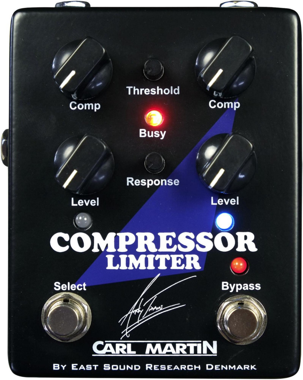 Carl Martin Andy Timmons Signature Compressor Limiter Guitar Pedal by Carl Martin