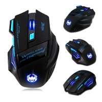 f3e4d67248a Product Image 7 Buttons LED Optical Wireless Gaming Mouse For Win7/8 ME XP,  2400 DPI