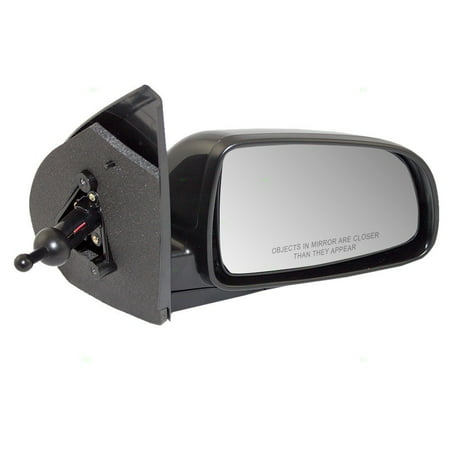 Aftermarket Side View Mirrors - Passengers Manual Remote Side View Mirror Replacement for Chevrolet 96458087, Brand new aftermarket replacement By AUTOANDART