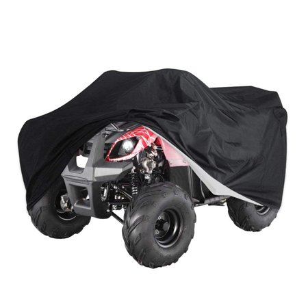 All Weather Cover (Waterproof ATV Cover Universal Fit All Weather Full Breathable Sun UV Rain Snow Dust Wind Outdoor Protection (100.79