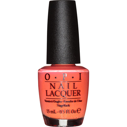 OPI Nail Lacquer, NL H43 Hot & Spicy, 0.5 fl oz