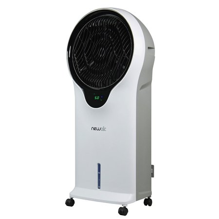NewAir Portable Air Conditioner Evaporative Cooler Tower Fan with Remote, White ()