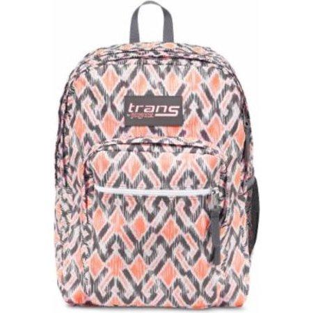 Trans17 SuperMax Backpack - Grey, Grey Stripe, 2200 cubic inch - Zebra Striped Backpacks