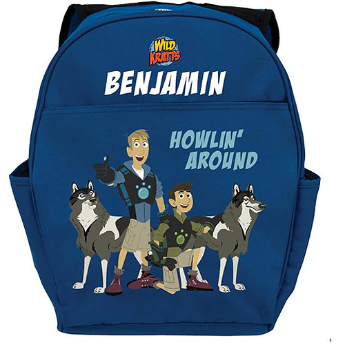 Personalized Wild Kratts Howlin' Around Youth Backpack