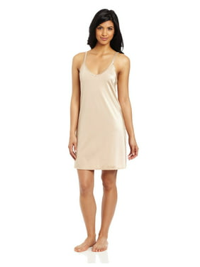 Vanity Fair Womens Spinslip Tailored Slip, 40-18 Length, Damask Neutral