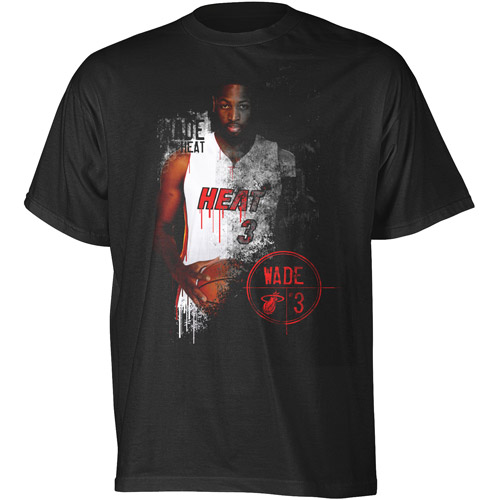 Big Men's NBA Heat Wade Graphic tee