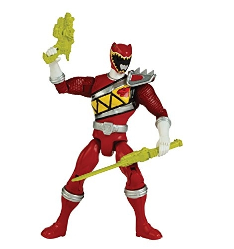 "Power Rangers Dino Charge 5"" Red Ranger Action Hero by Ban Dai"