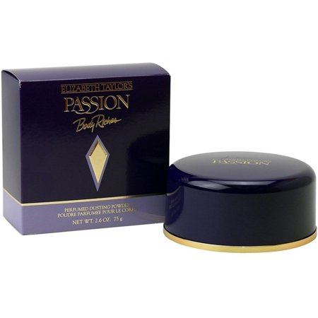 4 Pack - Elizabeth Taylor Passion Perfumed Dusting Powder 2.60 oz