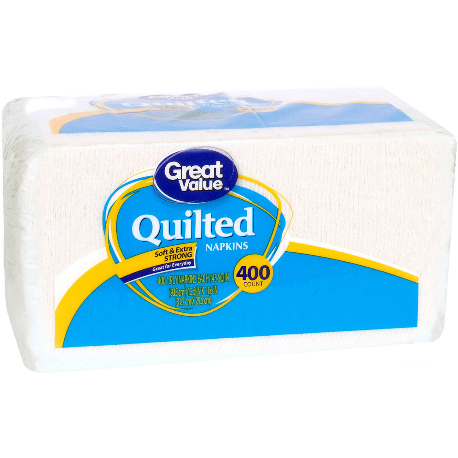Great Value Value Size Quilted Napkins, 2ct