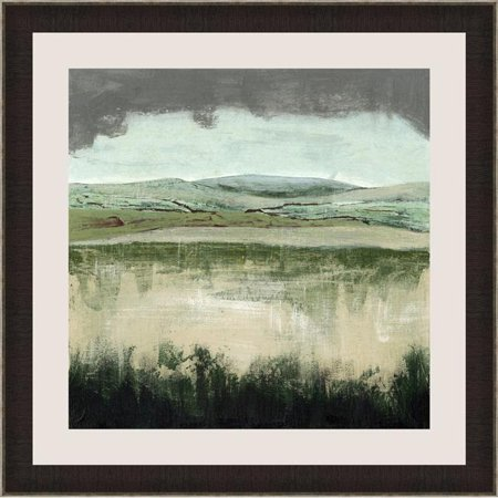 Somerset House Publishing 7112 26.5 x 26.5 in. Crystal Moorland II, Framed Fine Art Print with Glass - Brown & Silver - image 1 de 1