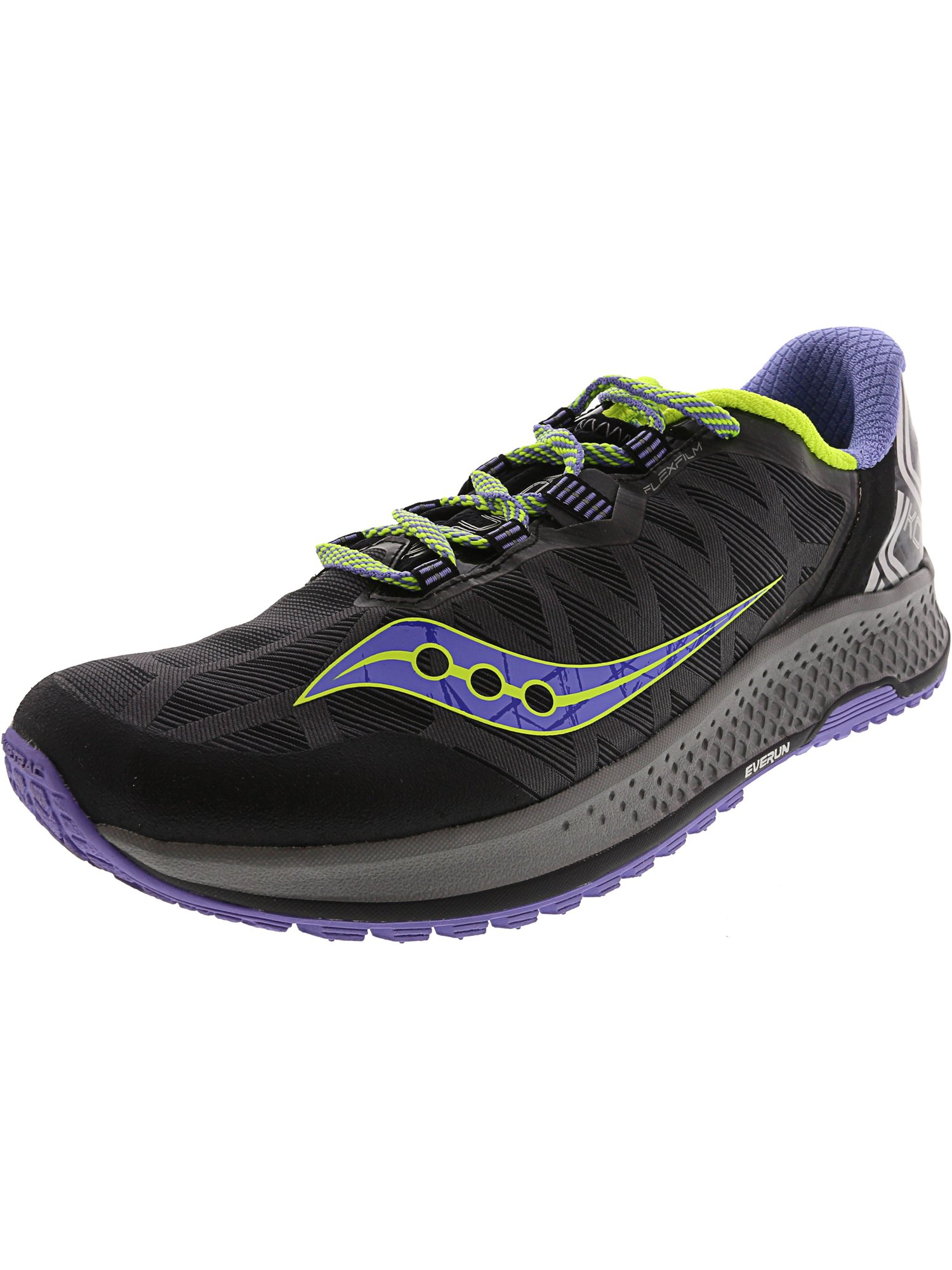 Saucony Women's Koa Tr Grey / Blue Cotton Ankle-High Running Shoe - 11.5M