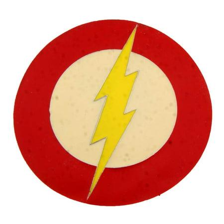 The Flash DC Comics Logo Lightning Bolt 3d Character Belt Buckle Costume Metal](Lightning Bolt Costume)