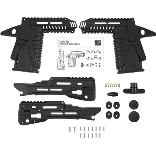 Planet Eclipse EMC Gemini Rail Mounting Body Kit - Black