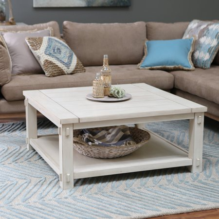 Classic Square Coffee Table (Belham Living Westcott Square Coffee Table )