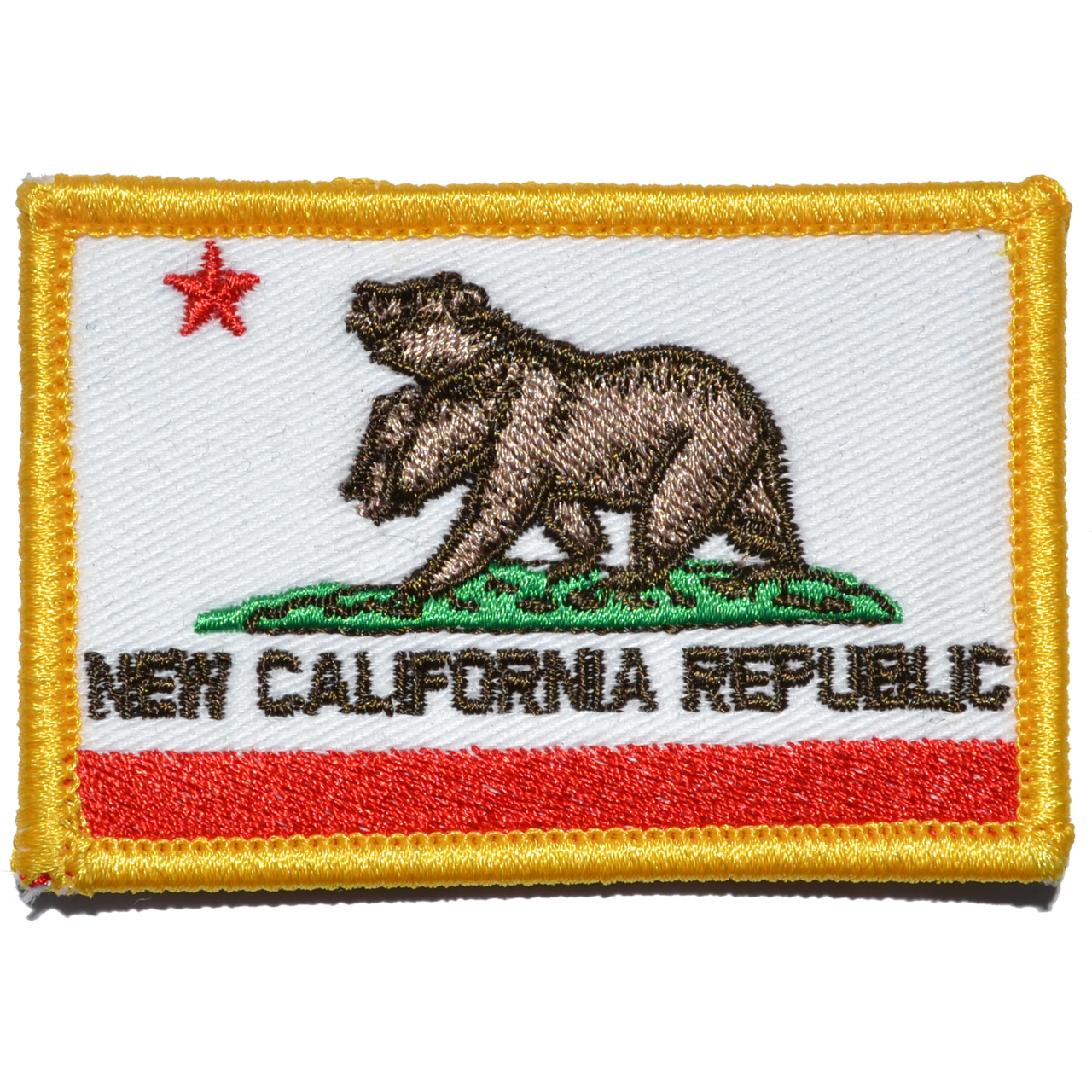 New California Republic NCR State Flag - 2x3 Patch