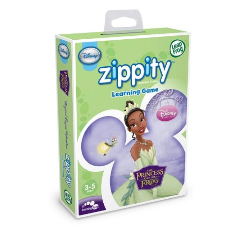 LeapFrog Zippity Learning Game: Disney The Princess and the Frog by LeapFrog Enterprises