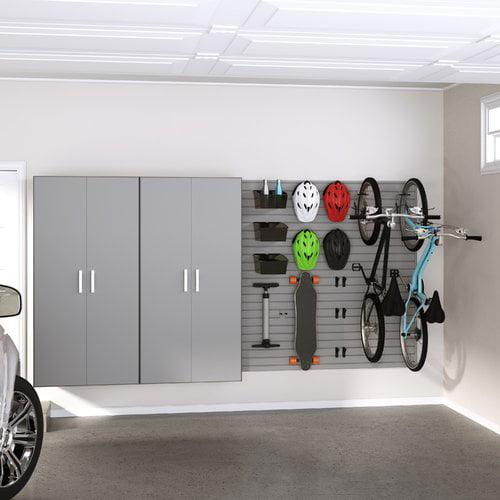 Flow Wall Jumbo Locker and Bike Storage Cabinet Set