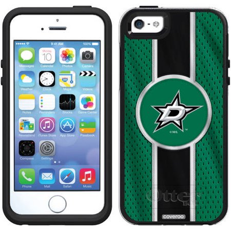 Dallas Stars Jersey Stripe Design on OtterBox Symmetry Series Case for Apple iPhone 5/5s Dallas Stars Jersey Case