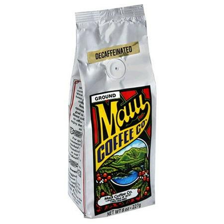 Maui Coffee Company Maui Blend Decaf (Ground), 7 Ounce