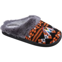 Miami Marlins Women's Aztec Slide Slippers