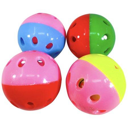 Bonka Bird Toys 1405 Lux Balls 4 Pack