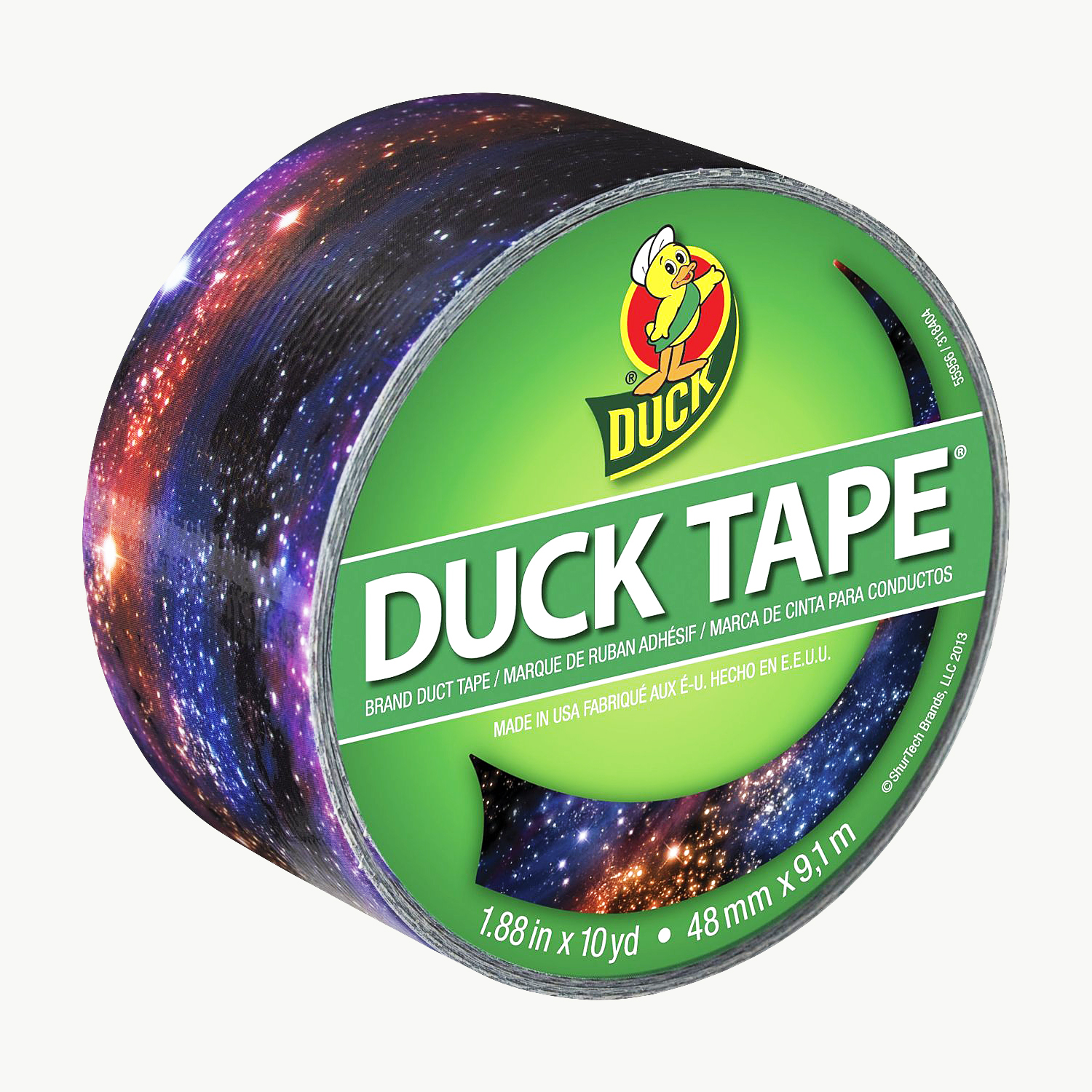 Duck Brand Printed Duck Duct Tape Patterns: 1.88 in. x 30 ft. (Galaxy)