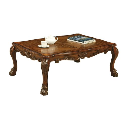 ACME Dresden Coffee Table, Cherry Oak