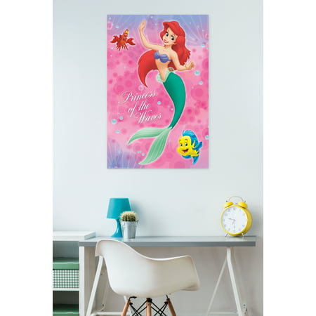 Trends International Little Mermaid Group Wall Poster 22 375  X 34