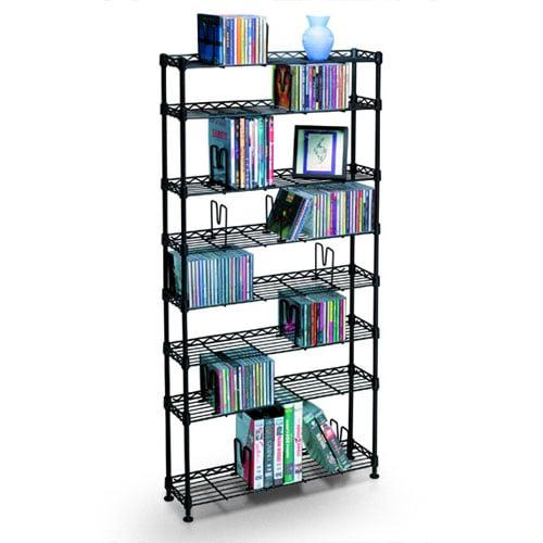 Atlantic 8-Shelf Multimedia Storage Unit