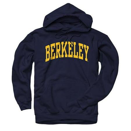 - University Of California Berkeley Hoodie Mens Sweatshirt- Navy
