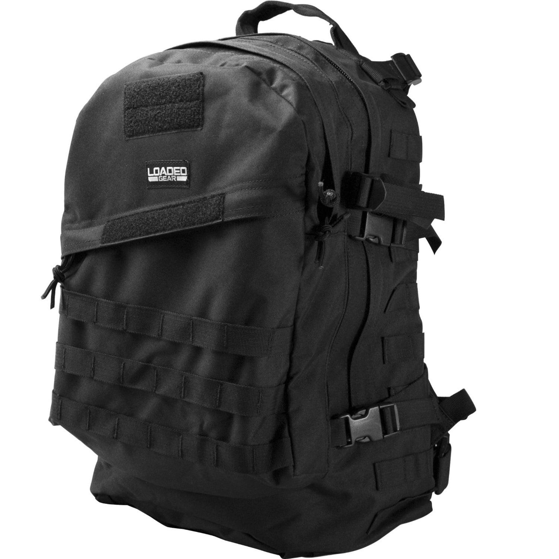 Barska Loaded Gear GX-200 Tactical Backpack - Black