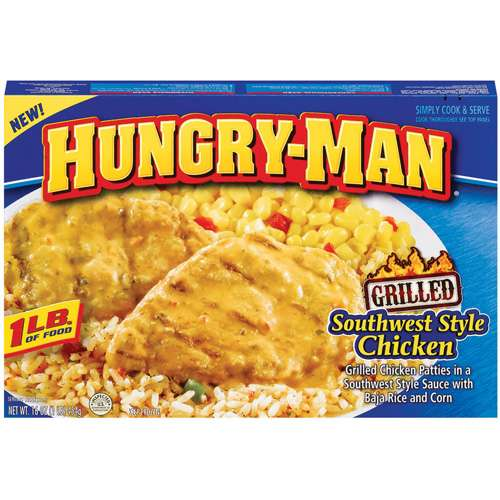 Hungry-man Southwest Chicken 16oz