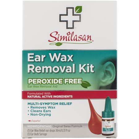 Similasan Ear Wax Removal Kit .33 fl oz (Best Way To Remove Impacted Ear Wax At Home)