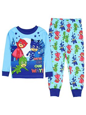 4561cdfe73 Product Image AME PJ Mask Boys Were On Our Way! Long Sleeve Cotton Pajamas  Tight Fit (